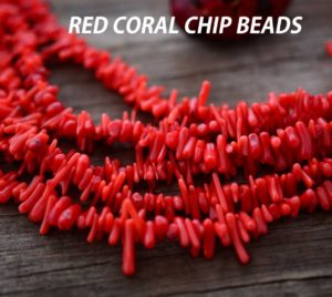 red coral with text