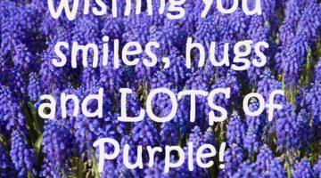 Are you a sensitive, compassionate Purple lover?