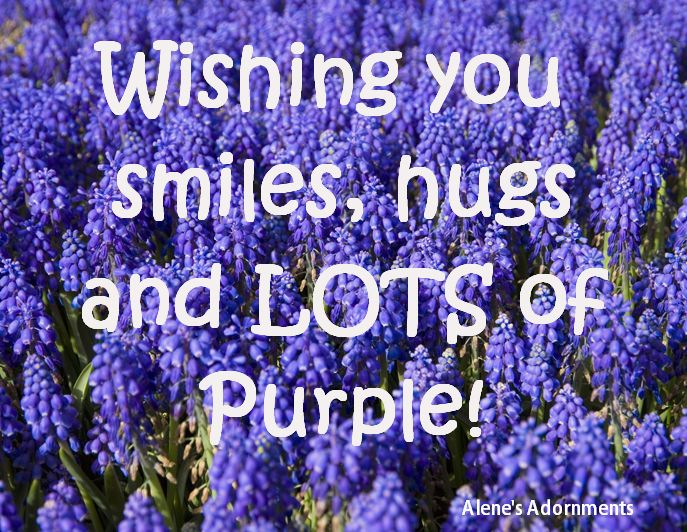 Are you a sensitive compassionate purple lover alene 39 s for Purple makes you feel